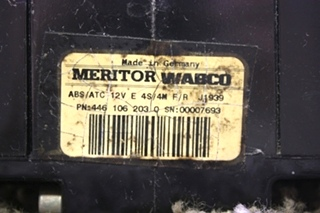 USED MERITOR WABCO 4461062030 ABS CONTROL BOARD MOTORHOME PARTS FOR SALE
