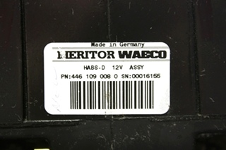 USED 4461090080 MERITOR WABCO RV ABS CONTROL BOARD FOR SALE