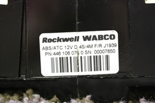 USED RV 4461060750 ROCKWELL WABCO ABS CONTROL BOARD FOR SALE