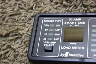USED MOTORHOME INTELLITEC 50 AMP SMART EMS DISPLAY PANEL FOR SALE