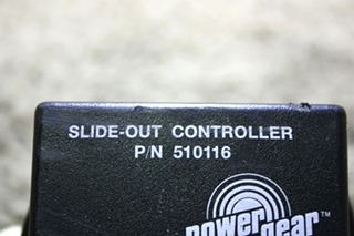 USED 510116 POWER GEAR SLIDE-OUT CONTROLLER MOTORHOME PARTS FOR SALE