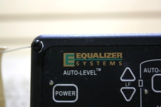 USED MOTORHOME EQUALIZER SYSTEMS LEVELING TOUCH PAD #2318 FOR SALE