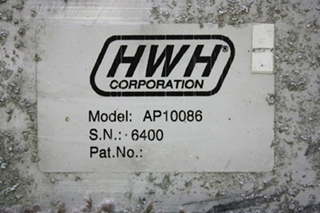 USED MOTORHOME HWH LEVELING CONTROL BOX AP10086 FOR SALE