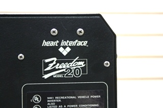 USED RV HEART INTERFACE FREEDOM 20 INVERTER/CHARGER 81-0209-12 FOR SALE