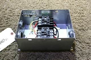 USED RV PROGRESSIVE DYNAMICS PD52 AUTOMATIC TRANSFER RELAY SWITCH FOR SALE