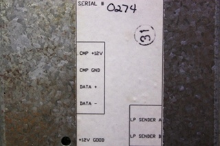 USED RV LP INTERFACE MODULE (LP) 38030057 FOR SALE