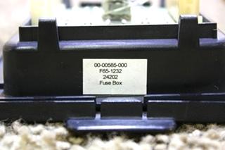 USED 00-00585-000 INTELLITEC FUSE PANEL RV PARTS FOR SALE
