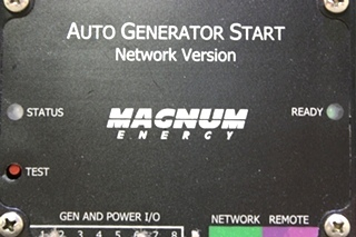 USED MOTORHOME MAGNUM ENERGY AUTO GENERATOR START FOR SALE