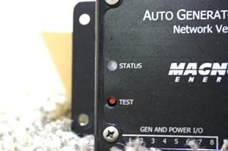 USED MOTORHOME MAGNUM ENERGY AUTO GENERATOR START FOR SALE