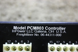 USED RV INPOWER PCM803 CONTROLLER 06-44311-000 FOR SALE