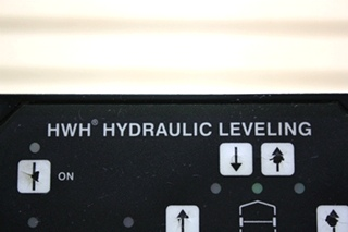 USED HWH HYDRAULIC LEVELING TOUCH PAD AP20008 RV PARTS FOR SALE