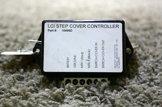 USED RV LCI STEP COVER CONTROLLER 10496D FOR SALE