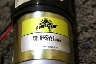 USED POWER GEAR 522735S SLIDE OUT MOTOR RV PARTS FOR SALE
