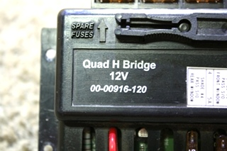 USED INTELLITEC 00-00916-120 QUAD H BRIDGE RV PARTS FOR SALE
