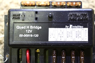USED MOTORHOME 00-00916-120 QUAD H BRIDGE BY INTELLITEC FOR SALE