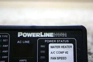 USED MOTORHOME INTELLITEC POWERLINE EMS DISPLAY PANEL 00-00757-000 FOR SALE