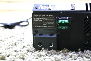 USED RV PARALLAX POWER SUPPLY CONVERTER CHARGER MODEL: 4455 FOR SALE