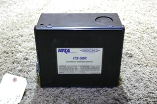 USED ITS-50R IOTA AUTOMATIC TRANSFER SWITCH MOTORHOME PARTS FOR SALE