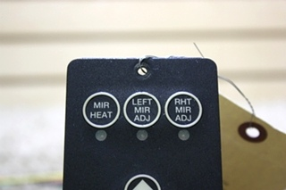 USED MOTORHOME POWER GEAR MIRROR CONTROL SWITCH PANEL 700020 FOR SALE