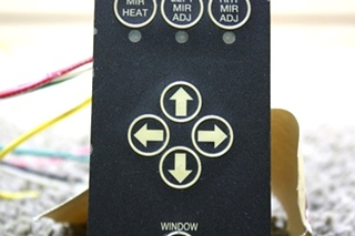 USED POWER GEAR MIRROR CONTROL PANEL 700020 RV PARTS FOR SALE