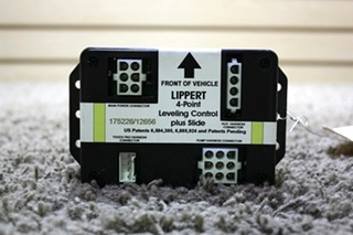 USED MOTORHOME LIPPER 4 POINT LEVELING CONTROL PLUS SLIDE 175226/12656 FOR SALE