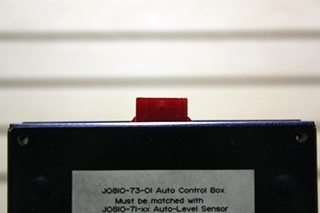 USED RVA J0810-73-01 AUTO CONTROL BOX MOTORHOME PARTS FOR SALE