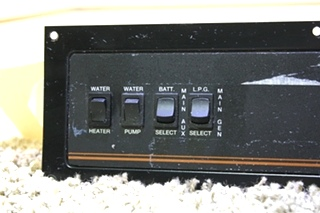 USED MOTORHOME VENTLINE MONITOR PANEL FOR SALE