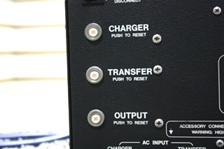 USED MOTORHOME HEART INTERFACE FREEDOM 25 INVERTER CHARGER FOR SALE