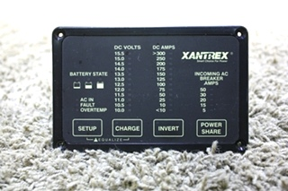 USED XANTREX HEART REMOTE 84-2056-03 MOTORHOME PARTS FOR SALE