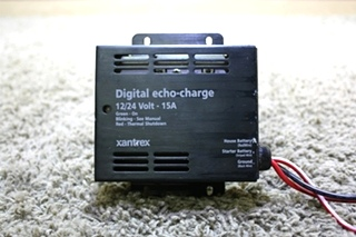 USED 82-0123-01 XANTREX DIGITAL ECHO-CHARGE RV PARTS FOR SALE