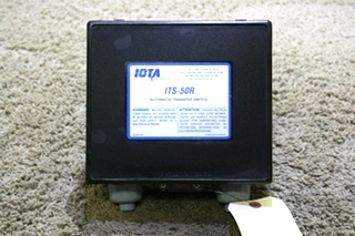 USED RV IOTA AUTOMATIC TRANSFER SWITCH ITS-50R FOR SALE