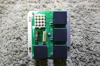 USED KIB 1661589F SLIDE-OUT CONTROL BOARD RV PARTS FOR SALE