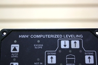 USED MOTORHOME AP39649 HWH COMPUTERIZED LEVELING TOUCH PAD FOR SALE