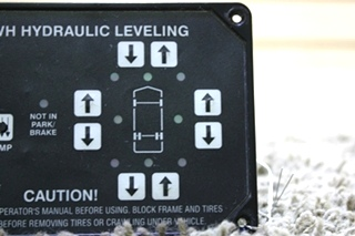 USED HWH HYDRAULIC LEVELING AP10054 TOUCH PAD MOTORHOME PARTS FOR SALE