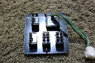 USED MOTORHOME DASH SWITCH PANEL FOR SALE