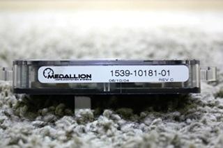 USED RV MEDALLION DISPLAY PANEL 1539-10181-01 FOR SALE