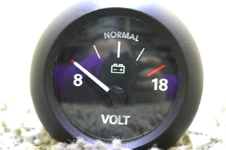 USED MEDALLION VOLT GAUGE 6913-00051-01 MOTORHOME PARTS FOR SALE