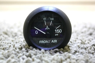 USED 6913-00159-11 FRONT AIR RV DASH GAUGE FOR SALE