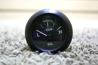 USED RV 6913-00049-01 L-H OIL PRESSURE GAUGE FOR SALE