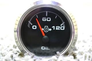 USED RV OIL PRESSURE DASH GAUGE FOR SALE