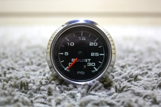 USED RV AIR PRESSURE 946072 BOOST PSI DASH GAUGE FOR SALE