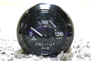 USED RV MEDALLION 7541-20001-26 FRONT AIR DASH GAUGE FOR SALE
