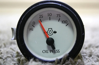 USED OIL PRESSURE GAUGE 944383 MOTORHOME PARTS FOR SALE