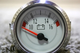 USED RV 943977 VOLTMETER DASH GAUGE FOR SALE