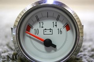 USED RV 943977 VOLTMETER DASH GAUGE FOR SALE