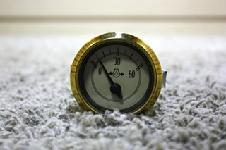 USED MOTORHOME 945648 OIL PRESSURE GAUGE FOR SALE