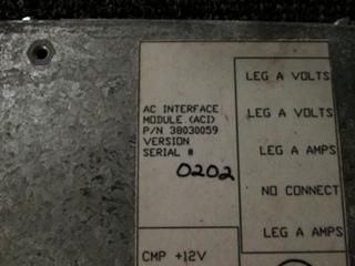 USED ALADDIN AC INTERFACE MODULE P/N 38030059 SN: 0202