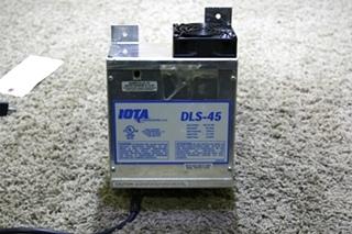 USED MOTORHOME DLS-45 IOTA 45 AMP POWER CONVERTER FOR SALE