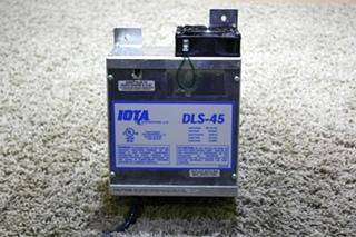 USED RV 45 AMP IOTA POWER CONVERTER DLS-45 FOR SALE