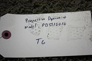 USED PROGRESSIVE DYNAMICS AUTOMATIC TRANSFER RELAY PD5110010 RV PARTS FOR SALE